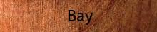 bay turning wood